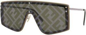 Fendi Sunglasses FFM0076GS 010A-RX 99mm Beige / Brown Decor Lens