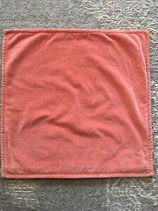 Pottery Barn Brushed Velvet Pillow Cover