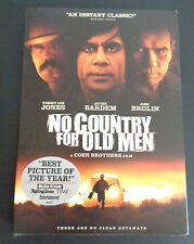 No Country for Old Men (DVD, 2008) NEW Free Shipping SEALED Tommy Lee Jones