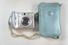 Canon PowerShot A540 Digital Camera Silver Working With Case