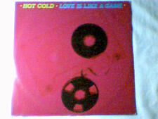 "HOT COLD Love is like a game 12"" IVANA SPAGNA ITALO"