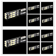 10x T10 15smd led canbus Error Free Parking Lights Lamp Bulbs 0.15A 50-55Lm 12V