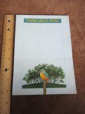 Vintage Thames Valley Hotels Brochure Pamphlet UK Near London England Lodging