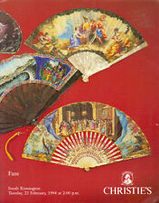 CHRISTIE'S SK FANS including Tal Collections Auction Catalog 1994