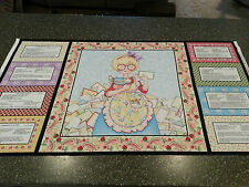 "Kitchen Capers Panel 23"" x 43"" by Mary Engelbreit / V.I.P. Recipes Cook Apron"