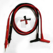 Banana Universal Multimeter Test Leads Probe Cable for IC Pin LED