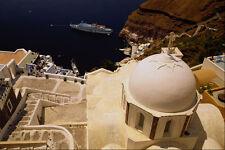 571005 Fira Santorini Greece A4 Photo Print