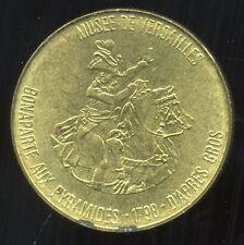 jeton TOTAL     ( musee de versailles  )  BONAPARTE AUX PYRAMIDES 1798