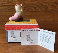 Raine Just the Right Shoe For Kids Rodeo Princess Coa Box 27333