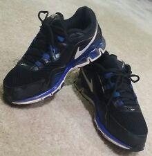FLASH SALE》Men's Nike Air Max TR 20K12 Cross training Shoes》Black/Royal Blue》10½