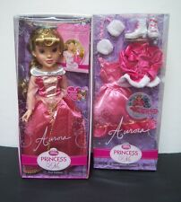 "Disney Princess & Me Sleeping Beauty Aurora 1st Ed. 18"" Doll & Skating Outfit"