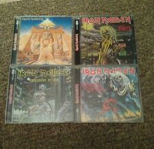 IRON MAIDEN cd LOT 4 Killers SOMEWHERE IN TIME Powerslave NUMBER BEAST uk 1998