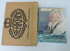 *NEW Searace A History of Offshore Powerboat Racing John Crouse 1ST ED 1989 Dust