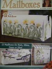Mailboxes Painting Book-Dewberry-Trumpet Flowers/Garden/Wreath/Frog & Dragonfly/
