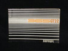 1968 Ferrari 365 GT 2+2 Spare Parts Catalog Owners Manual Book
