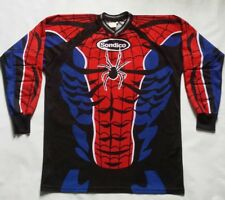 Sondico Goalkeeper Soccer Spiderman Padded Elbows Jersey Size L