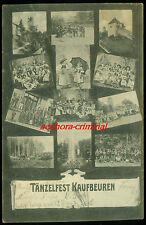 AK 1905 (?)  - KAUFBEUREN - Tänzelfest - frankiert gelaufen