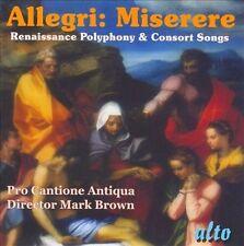 NEW Allegri: Miserere (CD, Jul-2010, Alto) Classical