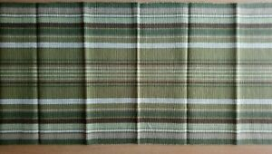 100% Cotton Table Runner with Stripes - 45 x 130 cm BNWT