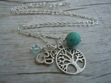 Turquoise Silver Plated Costume Necklaces & Pendants