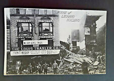 Mint Vintage 1913 Dayton OH Great Flood Leonard Building Ruins RPPC