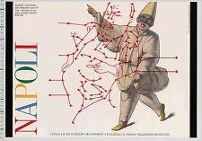 1985 Italo Lupi NAPOLI: A Cultural Contribution Graphic Design POSTER series