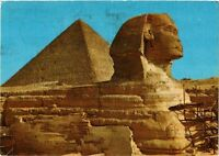 CPM EGYPTE Giza. The Great Sphinx and Keops pyramid (343639)