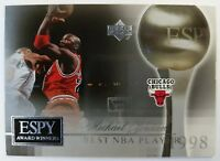 2005 05 Upper Deck Michael Jordan ESPY Award Winners #MJ4 Best NBA Player