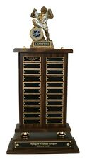 FANTASY HOCKEY PERPETUAL 22 YEAR AWARD TROPHY MONSTER NEW WITH FANTASY LOGO