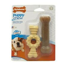 Nylabone Puppy Twin Pack Ring Bone Petite (X-Small)