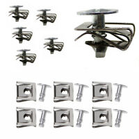 40x Car Under Engine Cover Fixing Clips Screws Vehicle OEM:8D0805121,8D0805960