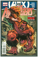 Avengers #28 VF/NM Marvel Comics 2012 Red Hulk Cover A vs X