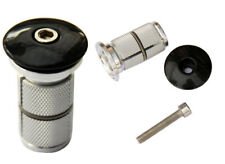 3k carbon fibre Headset Top Cap & bike Fork Expander Bung 1 1/8 Replaces Starnut
