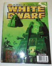 White Dwarf Magazine Lord Of The Rings The Fellowship No.271 2002 103114R
