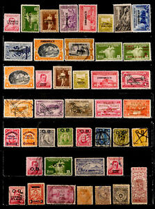 PHILIPPINES, SPAIN, U.S.: CLASSIC ERA STAMP COLLECTION W/ UNUSED & NEVER HINGED