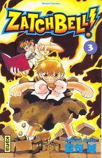 ZATCHBELL !  tome 3 Raiku Manga shonen en français