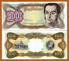 Venezuela, 100 Bolivares, 1992, P-66e, UNC