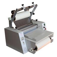 A3 Hot Cold Laminator Machine 365mm Single Amp Double Side Roll Laminating Machine
