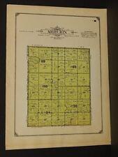 Minnesota Lac Qui Parle County Map Mehurn Township  1913  W3#11