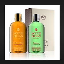 Molton Brown Oudh Accord & Gold & Eucalyptus Shower Gel Gift Set full size