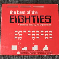 The Best Of The Eighties (Various Artists) (CD, 2002) 3-CD Box Set