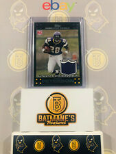 2007 Topps Adrian Peterson #3 Player-Worn Jersey RC Rookie NM/M MINT Card