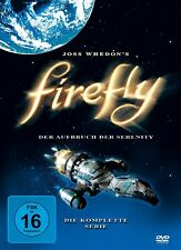 FIREFLY, Der Aufbruch der Serenity (Die komplette Serie, 4 DVDs) NEU+OVP