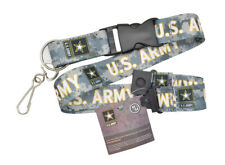 Official Licensed Products Military Camouflage U.S.ARMY Key Chain Clip Lanyards
