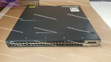 Cisco WS-C3560X-48PF-E from WS-C3560X-48PF-S IP SERVICES LICENSE PoE+ switch