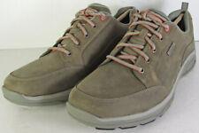 Rockport Mens Weather Adventure Blucher Oxford Waterproof Shoes, Grey, US 9.5W