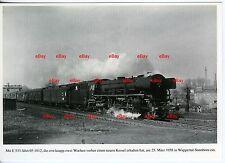 Dampflok 03 1012 DB 1958 Wuppertal-Sonnborn mit E 533 (*7333)