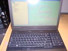 "DELL PRECISION M4600 15.6"" LAPTOP INTEL CORE i7-2760QM 2.4GHZ 8GB RAM AS IS"