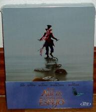 ALICIA A TRAVES DEL ESPEJO STEELBOOK BLU-RAY DISNEY NUEVO AVENTURAS (SIN ABRIR)