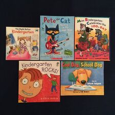 Lot of 5 Children's Picture Books: First Day of School Kindergarten - Paperbacks